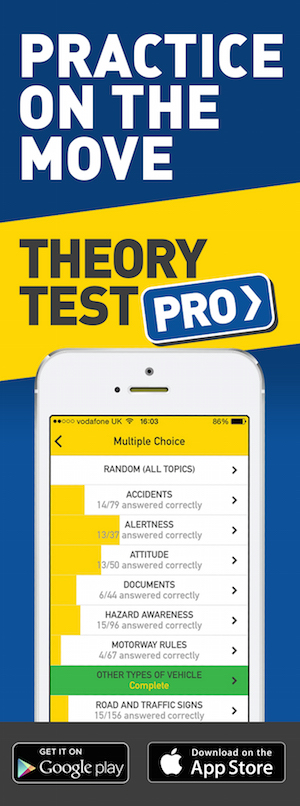 Theory Test Pro in partnership with Driver Skills North East